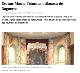 Lire l'article : l'express du 13 septembre 2013